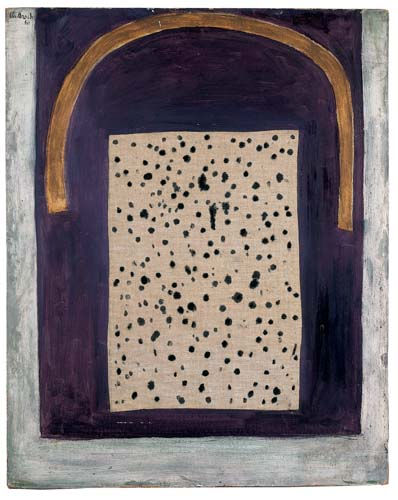 Arch in Blue-Purple