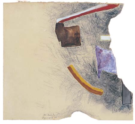 A Beautiful Form by Kurst Schwitters