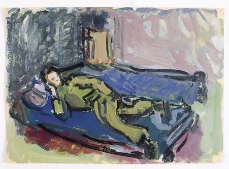 Soldier Reclining