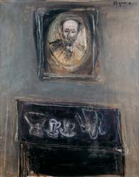 Interior with the Portrait of the Artist