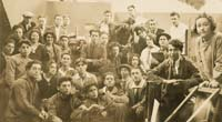 Class photo, Betzalel School of Art,1926