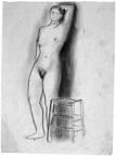 Nude and Stool