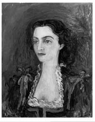 Portrait of Mrs. Aharonson